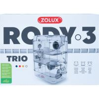 Klec křeček Rody 3 TRIO bílá 41x27x53cm Zolux_3