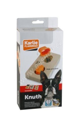 Interaktivní dřevěná hračka KNUTH 22x12cm