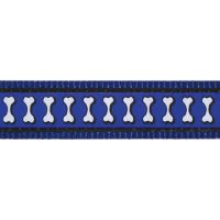 Obojek RD 20 mm x 30-47 cm - Ziggy Rfx - Tm.Modrá