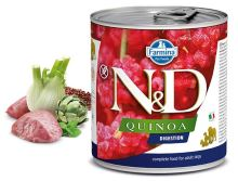 N&D DOG QUINOA Adult Digestion Lamb & Fennel 285g - 1 + 1 ZDARMA