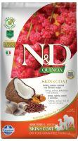 N&D Grain Free Quinoa DOG Skin & Coat Herring & Coconut 2,5kg - EXP 06/2021