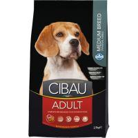 CIBAU Dog Adult Medium 12kg + 2kg ZDARMA