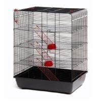 Klec Remy pro potkany, černá 58x38x72cm