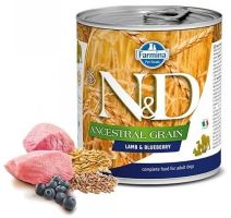 N&D DOG Low Grain Adult Lamb & Blueberry 285g
