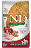 N&D Low Grain DOG Adult Medium/Large Chicken & Pomegranate 2,5kg
