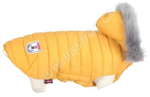 Obleček prošívaná bunda pro psy URBAN žlutá Zolux