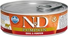 N&D CAT PUMPKIN Adult Quail & Pumpkin 80g