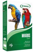 Mikros Exot pro papoušky plv 1kg krabička