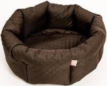 Pelech kruh textil Elegance hnědý 50cm