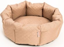 Pelech kruh textil Elegance béžový 50cm