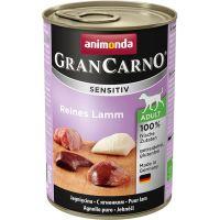 Konzerva ANIMONDA Gran Carno Sensitiv čisté jehněčí 400g