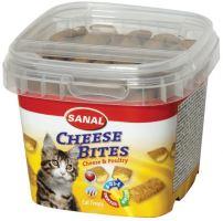 SANAL ANTI-HAIRBALL BITES - plněný snack proti chomáčům 75g