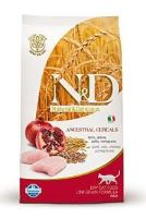 N&D Low Grain CAT Adult Chicken & Pomegranate 5kg