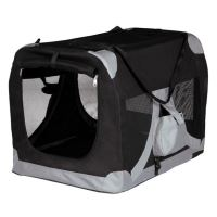 T-Camp De LUXE 2 50x50x70cm - černo-šedý