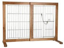 Posuvná bariéra do dveří pro psy a štěňata 61-103x75x40cm Trixie