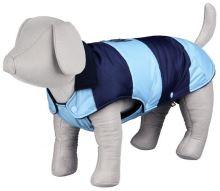 Zimní vesta CARSO proužkovaná modrá, zateplená S 33cm Trixie - DOPRODEJ