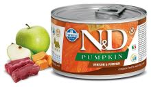 N&D DOG PUMPKIN Adult Venison & Pumpkin Mini 140g - 1 + 1 ZDARMA