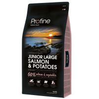 Profine NEW Dog Junior Large Salmon & Potatoes 15kg