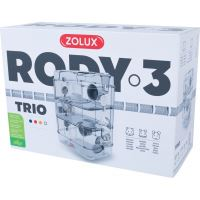 Klec křeček Rody 3 TRIO bílá 41x27x53cm Zolux_2