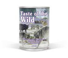 Taste of the Wild Sierra Mountain Canine konzerva 375g