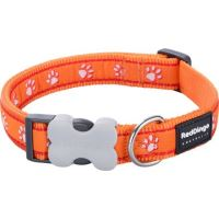 Obojek RD 12 mm x 20-32 cm - Desert Paws Orange