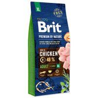 BRIT Premium by Nature Adult XL 15kg + obojek FORESTO 70cm