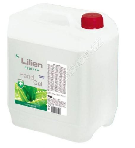 Lilien dezinfekční gel na ruce Aloe Vera 5l