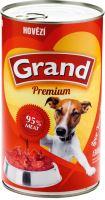 GRAND konzerva pes hovězí 1300g