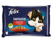 Felix Fantastic Multipack králík a jehněčí v želé 4x85g