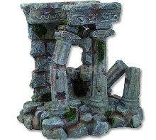 Aqua Excellent  Dekorace akvarijní Antický sloup 14,3 x 12 x 14,4cm