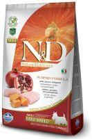 N&D Grain Free Pumpkin DOG Adult Mini Chicken & Pomegranate 2,5kg - EXP 03/2021