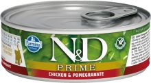 N&D CAT PRIME Kitten Chicken & Pomegranate 80g - 1 + 1 ZDARMA