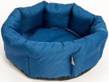 Pelech kruh textil Elegance petrolejový 50cm