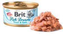 Brit Cat konz Brit Fish Dreams Trout & Tuna 80g