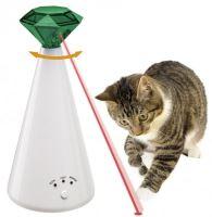 Hračka kočka Laser Phantom, 10x21cm Ferplast