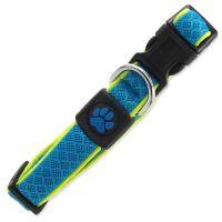Obojek ACTIV DOG Fluffy Reflective modrý S