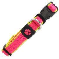 Obojek ACTIV DOG Fluffy Reflective růžový M