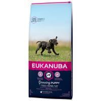 EUKANUBA Puppy & Junior Large Breed 15kg + FLEXI VODÍTKO ZDARMA!