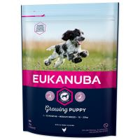 EUKANUBA Puppy & Junior Medium 1kg