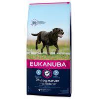 EUKANUBA Mature & Senior Large Breed 15kg + FLEXI VODÍTKO ZDARMA!