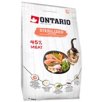 ONTARIO Cat Sterilised Salmon 2kg