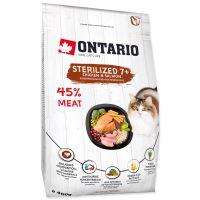 ONTARIO Cat Sterilised 7+ 400g