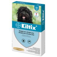 Bayer Kiltix obojek pro střední psy 53cm