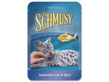 Kapsička SCHMUSY Fish sardinky v želé 100g