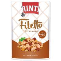 Kapsička RINTI Filetto kuře + jehně v želé 100g
