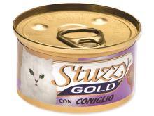 Konzerva STUZZY Cat Gold králík 85g