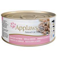 APPLAWS  konzerva Cat tuňák a krevety 70g