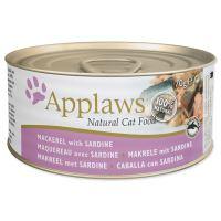 APPLAWS konzerva Cat makrela a sardinky 70g