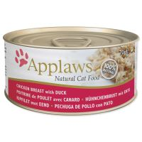 APPLAWS konzerva Cat kuřecí prsa a kachna 70g