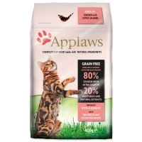 APPLAWS Dry Cat Chicken & Salmon - granule pro kočky s lososem 400g